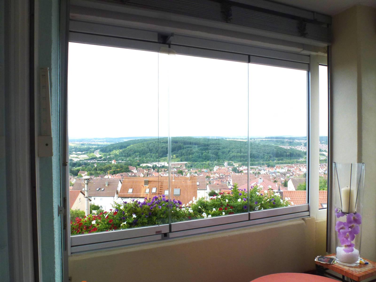Balkonverglasungen freudenstadt waldenberg - Schiebefenster fur balkon ...
