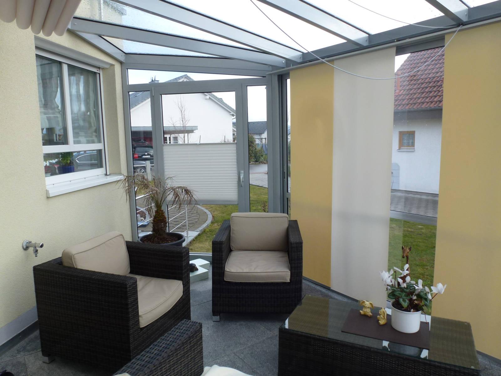sonnenschutz f r wintergarten und terrasse waldenberg. Black Bedroom Furniture Sets. Home Design Ideas